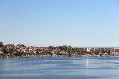 Puente de Svendborg Imagen de archivo libre de regalías