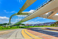 Puente de Taipei Imagenes de archivo