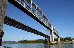 Puente de Tamar Imagen de archivo libre de regalías