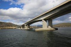 Puente de Tasman en Hobart Imagen de archivo libre de regalías