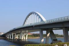 Puente de Tianyuan de la bahía de Wuyuan Foto de archivo libre de regalías