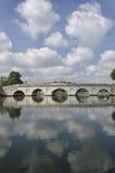 Puente de Tiberius en Rimini Imágenes de archivo libres de regalías