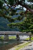 Puente de Togetsukyo Foto de archivo libre de regalías
