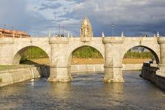 Puente de Toledo Fotos de archivo libres de regalías
