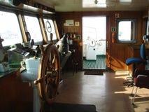 Puente de transbordador Fotos de archivo libres de regalías