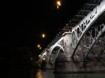 Puente de Triana Foto de archivo libre de regalías