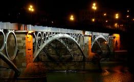 Puente DE Triana, Sevilla Royalty-vrije Stock Foto's