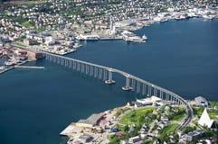 Puente de Tromso Foto de archivo