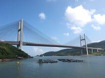 Puente de Tsing mA Fotos de archivo libres de regalías