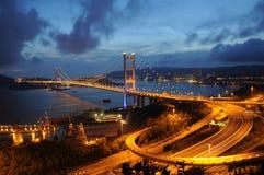 Puente de Tsing mA imágenes de archivo libres de regalías