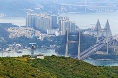 Puente de Tsing mA Fotografía de archivo libre de regalías