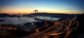Puente de Tsing mA Fotografía de archivo