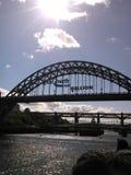 Puente de Tyne, Newcastle Foto de archivo libre de regalías