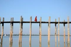 Puente de U-Bein Fotografía de archivo