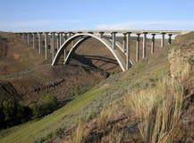 Puente de un estado a otro de Washington Fotografía de archivo libre de regalías