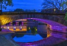 Puente de Vauban de la presa Imágenes de archivo libres de regalías