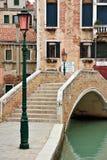 Puente de Venecia Foto de archivo libre de regalías