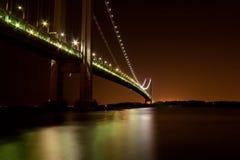 Puente de Verrazano foto de archivo libre de regalías