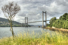Puente de Vigo´s Fotos de archivo