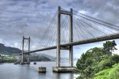 Puente de Vigo´s Foto de archivo libre de regalías