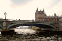 Puente de Westminster Foto de archivo libre de regalías