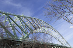 Puente 3 de Widnes Runcorn Fotos de archivo