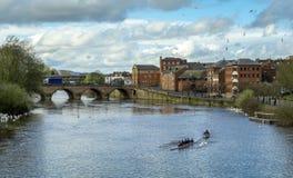 Puente de Worcester imágenes de archivo libres de regalías