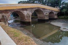 Puente de Puente Yayabo en Sancti Spiritus, Cu fotografía de archivo libre de regalías