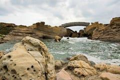 Puente de Yehliu imagen de archivo