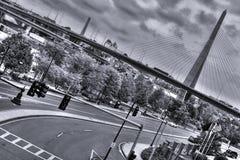 Puente de Zakim Imágenes de archivo libres de regalías