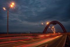 Puente de Zhivopisny imagenes de archivo