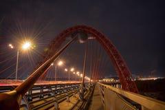 Puente de Zhivopisny fotos de archivo libres de regalías