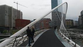Puente de Zubizuri Fotografía de archivo