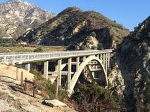 Puente del área de la cresta de Los Ángeles fotografía de archivo libre de regalías