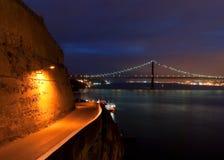 Puente del 25 de abril Fotos de archivo libres de regalías