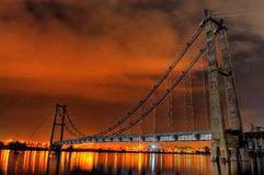 Puente del abandono en Putrajaya Fotos de archivo libres de regalías