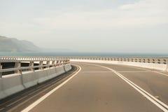 Puente del acantilado del mar Imagen de archivo