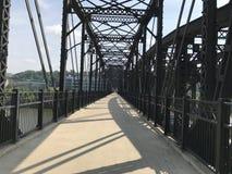 Puente del acero de Pittsburgh Imagen de archivo