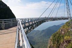 Puente del aire en Malasia Imagenes de archivo