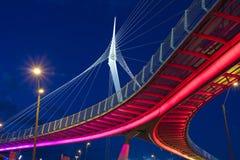 Puente del alambre Fotografía de archivo libre de regalías