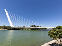 Puente del Alamillo, Sevilla Stock Afbeeldingen