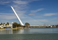 Puente del Alamillo, Seville Royalty Free Stock Photo