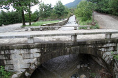 Puente del arco Imágenes de archivo libres de regalías