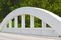 Puente del arco del arco iris Imagen de archivo