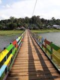 Puente del arco iris imágenes de archivo libres de regalías