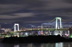 Puente del arco iris Fotos de archivo