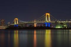 Puente del arco iris Fotografía de archivo libre de regalías