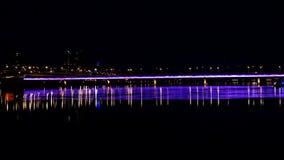 Puente del arco iris almacen de video