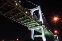 Puente del arco iris en Japan  fotografía de archivo libre de regalías