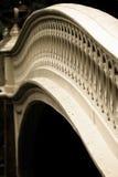 Puente del arqueamiento en Nueva York Foto de archivo libre de regalías